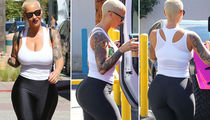 12 Awesome Pics Of Amber Rose In Yoga Pants To Get You Through Monday