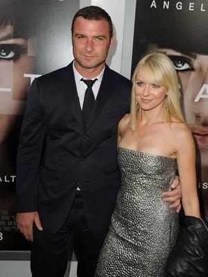 Naomi Watts and Liev Schreiber -- Before the Split