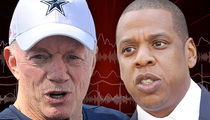 Jerry Jones -- Jay Z's the Real Deal ... 'I See What Beyonce Sees In Him' (AUDIO)