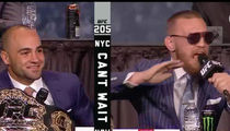 Conor McGregor -- Eddie Alvarez Is a Moron ... Shoulda Asked for More Money! (VIDEO)