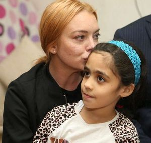Lindsay Lohan -- The Syrian Refugee Visit