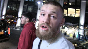 Conor McGregor -- 'I'm Ready to Fight Mayweather'