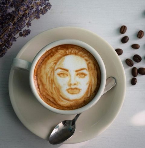 Instagram's Celebrity Latte Art   Photo 2