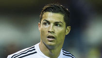 Cristiano Ronaldo's Private Jet Crash-Lands -- Soccer Star NOT On Board (PHOTOS)