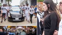 Jose Fernandez -- Pregnant Girlfriend Attends Funeral Procession