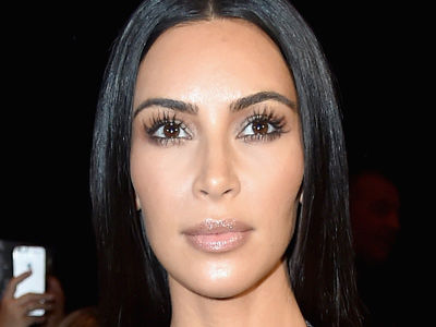 Kim Attends Paris Fashion Week In See-Through Dress -- And NO UNDERWEAR Down Below?!