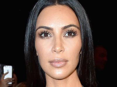 Kim Kardashian Attends Paris Fashion Week In See-Through Dress -- Underwear or No Underwear?