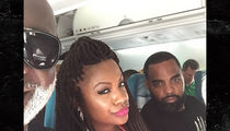 Kandi Burruss -- Booted Off Flight ... Airline Admits Screwup