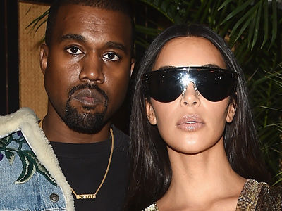 Kimye & Kourtney PARTY In Paris -- And Wait'll You See What They Wore Doing It!