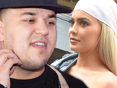 Rob Makes VERY Public Apology to Kylie After Leaking Her Number -- Gives His Side of the Story!