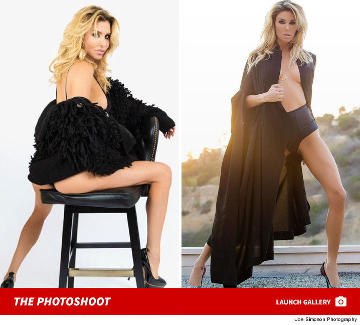 Brandi Glanville -- I Got Glammed with Jessica Simpson's Dad (PHOTO GALLERY)