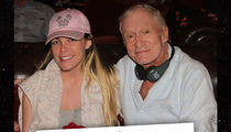 Hugh Hefner -- Dead Schmed!!! (PHOTO)