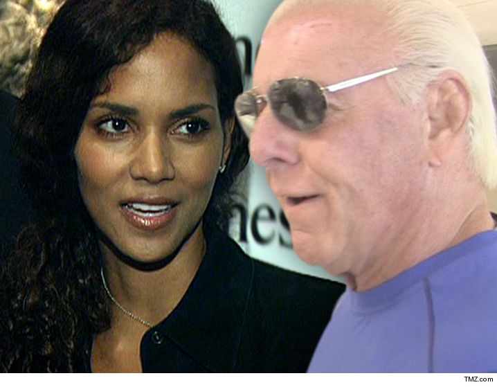 Halle Berry NEVER had sex with Ric Flair ... despite claims the ...