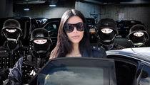 Kim Kardashian -- My New Security's Ready for Gun Battle
