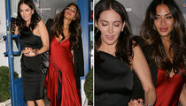 Nicole Scherzinger -- Trashed at Simon Cowell's Bash (PHOTO GALLERY)