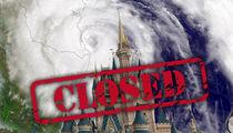 Disney World -- Hurricane Matthew Wins ... We're Closing!