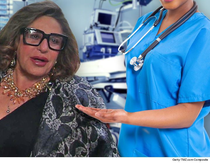 1006-lainie-kazan-hospital-nurse-TMZ-Fun-Art-GETTY-01