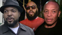 Ice Cube & Dr. Dre -- Cleared in Wrongful Death Suit ... Suge Knight Still Fighting