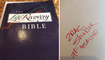 Tupac -- I Blessed This Bible ... It Can Be Yours For $54k! (PHOTOS)