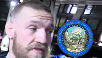 Conor McGregor -- Fined $150k ... For UFC 202 Presser Melee