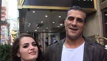 Alberto Del Rio & Paige -- Our Love Ain't Pro Wrestling ... 'Cause It's 100% Real (VIDEO)