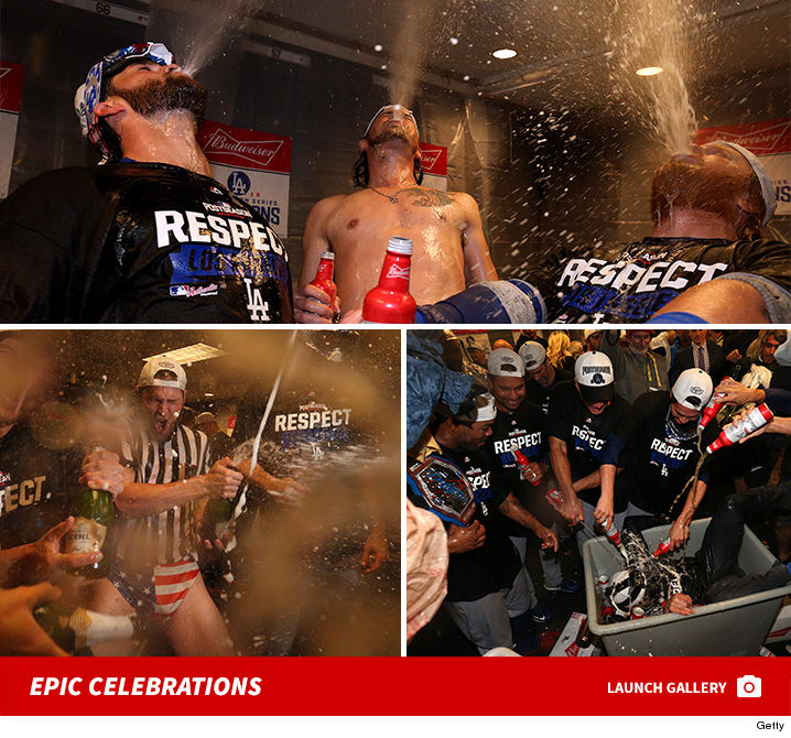 1014-LA-Dodgers-Celebrations-Locker-Room-Gallery-Launch-GETTY-01