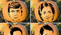 Celebrity Pumpkin Stencils -- Makin' The Cut!
