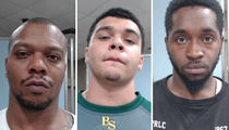 Tyson Gay -- Father, Son Duo Arrested ... In Daughter's Murder (MUG SHOTS)