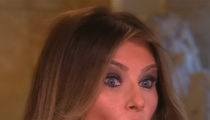 Melania Trump -- Women Cross the Line Too ... They Hit On Donald All the Time! (VIDEO)