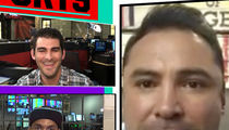 Oscar De La Hoya -- Hopkins' Next Fight Is 100% His Last ... I'm Making Him Promise (VIDEO)