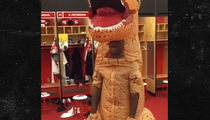 NFL's Patrick Peterson -- Your T-Rex Costume ... Looks Like a Penis (VIDEO)