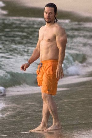 Mark Wahlberg -- Sun's Out, Guns Out in Barbados