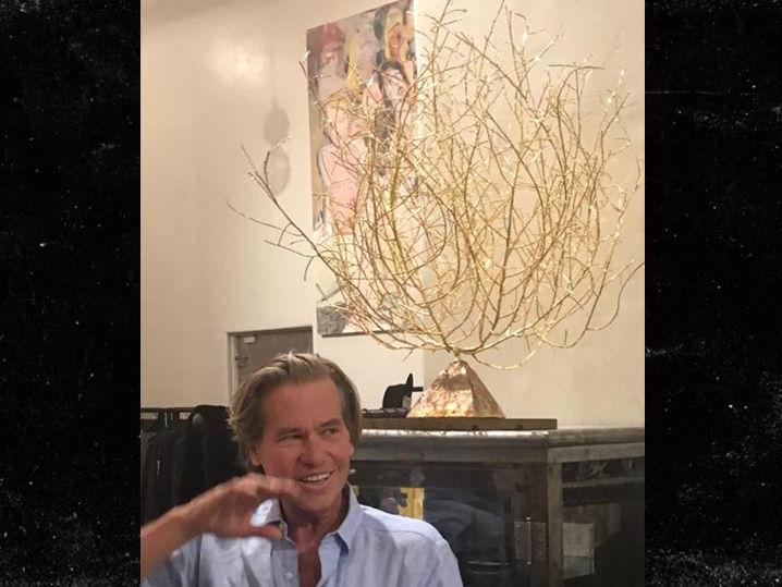 val kilmer is selling his gold tumbleweed