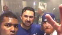 Yasiel Puig -- WE'RE 2 GAMES FROM THE WORLD SERIES ... And We're Pumped! (VIDEO)