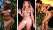 Ashanti's Dominican Republic Vacation ... Check Out the Sexy Bikini Shots