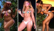 Ashanti's Dominican Republic Vacation ... Check Out the Sexy Bikini Shots