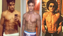 Warp Through These Shirtless Pics Of 'The Rocky Horror Picture Show' Hottie Staz Nair