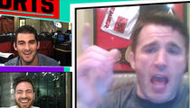 Chael Sonnen -- Tito Ortiz Is Broke ... (Tito Denies, Flips Bird)
