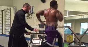 Ray Rice -- Hits 22 MPH on Treadmill ... I Still…