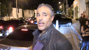 Rick Fox -- Hey Dodgers ... JUST WIN, BABY!
