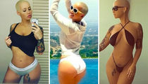 51 Smokin' Hot Shots Of Amber Rose To Celebrate The Birthday Bae