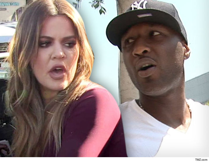 Khloe and Lamar -- Divorce Settlement a Done Deal