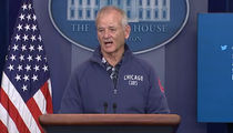 Bill Murray -- Crashes White House Briefing ... GO CUBBIES!!! (VIDEO)