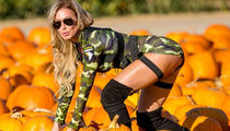 Hot Mystery Model Pickin' Pumpkins ... Check Out The Smashing Shots!