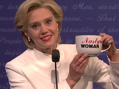 """SNL"" Skewers Final Debate -- Tackles Nasty Woman, Bad Hombres"