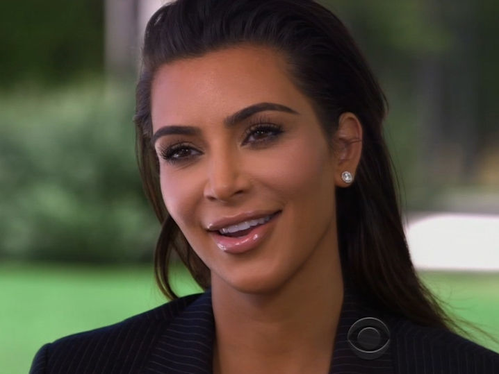 Kim Kardashian on '60 Minutes' -- Question My Talent?  Just Check My Bank Balance
