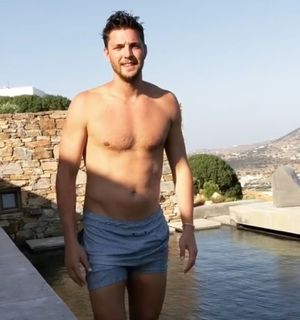 NBA's Chandler Parsons' Shirtless Snaps