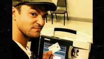 Justin Timberlake -- D.A. Reviewing Voting Selfie ... Punishment Includes Jail