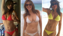 13 Smokin' Hot Pics Of Elizabeth Hurley In A Swimsuit ... Happy #WCW!