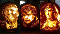 Instagram's Pop Culture Pumpkins ... Slice Through The Cool Carvings!